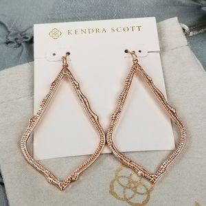 Rose Gold, Kendra Scott, Sophee, Earrings